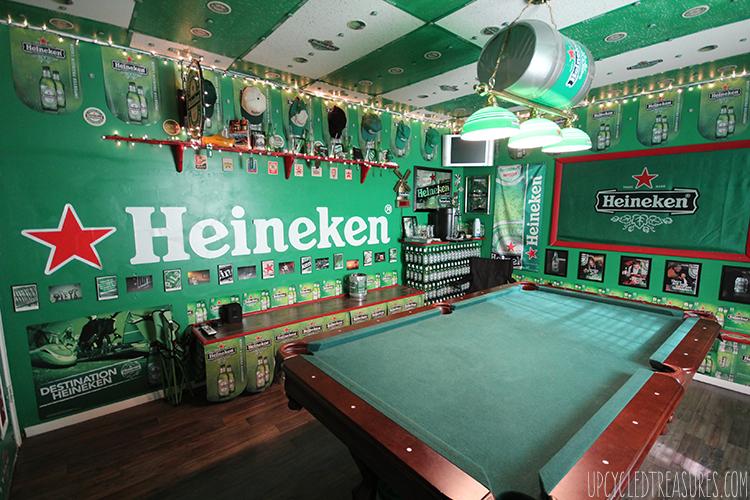 The Heineken Man Cave Home Gamemedia Rooms Bier