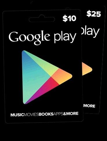Photo of Google play Gift Card