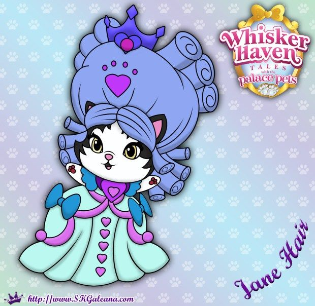 Whisker Haven Tales Coloring Page Of Jane Hair Disney Princess