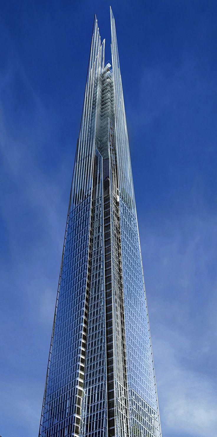 Shard Building London architecture Piano Renzo Pinned