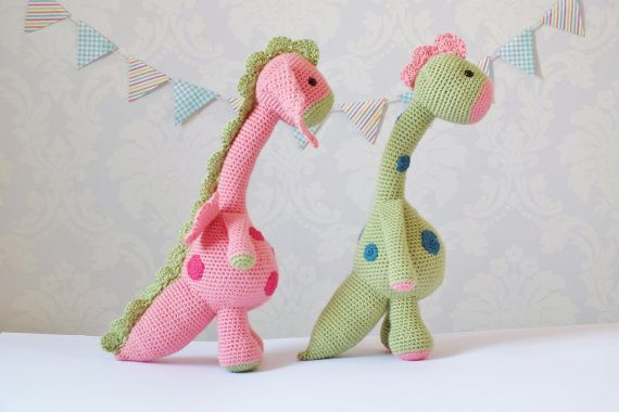 Crochet Dragon and Dinosaur Amigurumi PATTERN ONLY PDF Instant ...