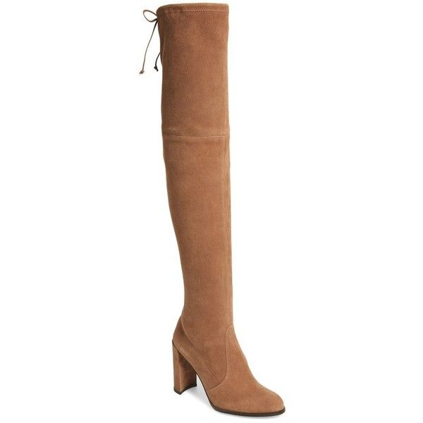Sale Factory Outlet Stuart Weitzman Hiline Over-the-Knee Boot in Suede(Women's) -Black Suede Free Shipping Shop 2018 rJKFZIS