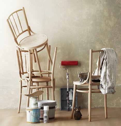 Maalaa tuolit