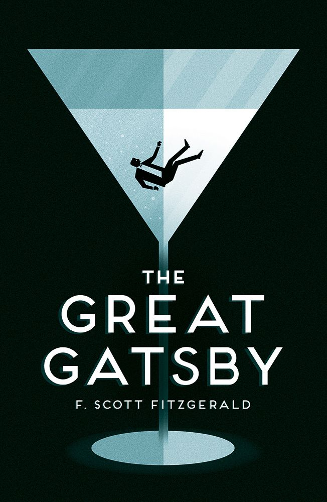 Great Book Cover Art : The great gatsby f scott fitzgerald bloc illustration