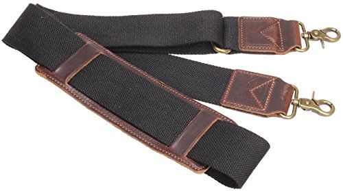 Iblue Replacement Luggage Shoulder Strap Canvas Adjule Padded Travel Duffle Bag Straps J2 Black Check Out This Great Product