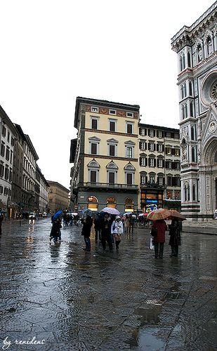 Piazza del Duomo - Florence, Italy