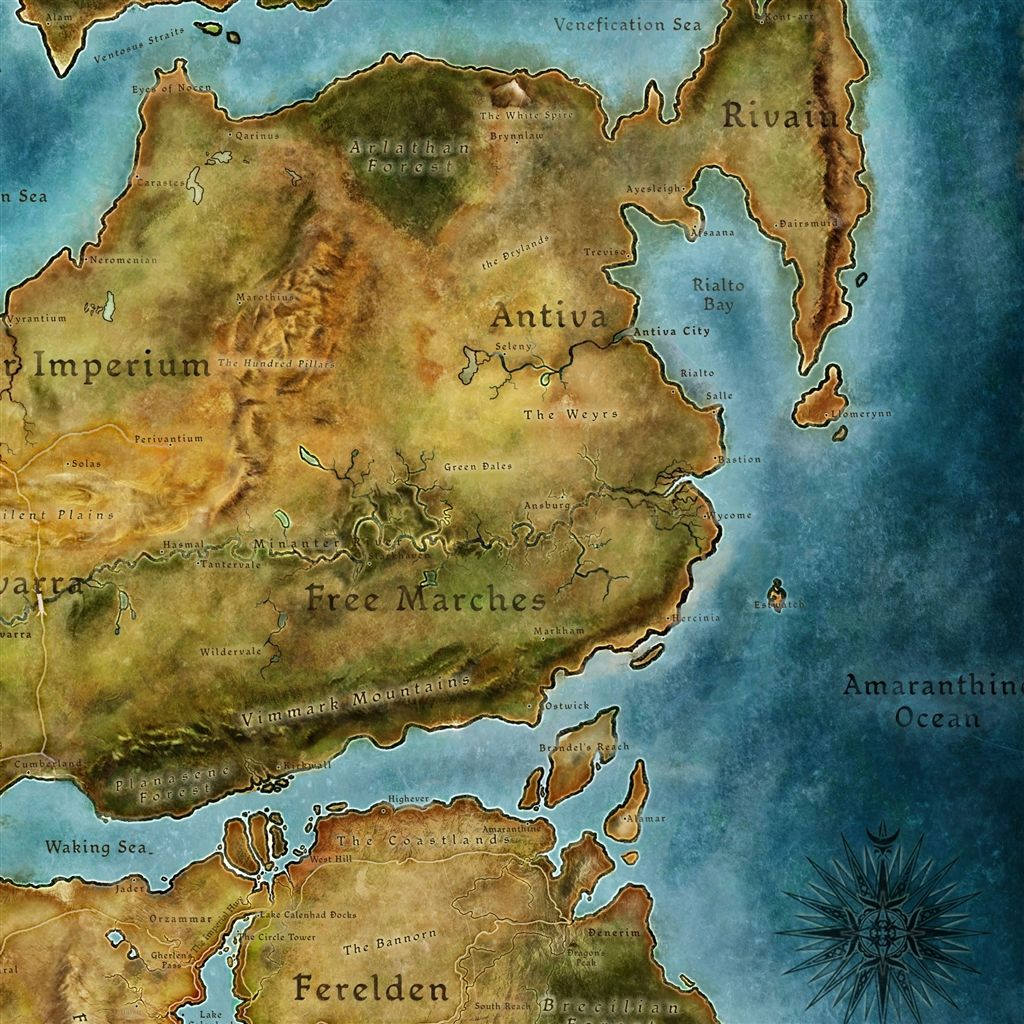 Dragon Age Map IPad Wallpaper Download Find More Free IPad - World map ipad wallpaper