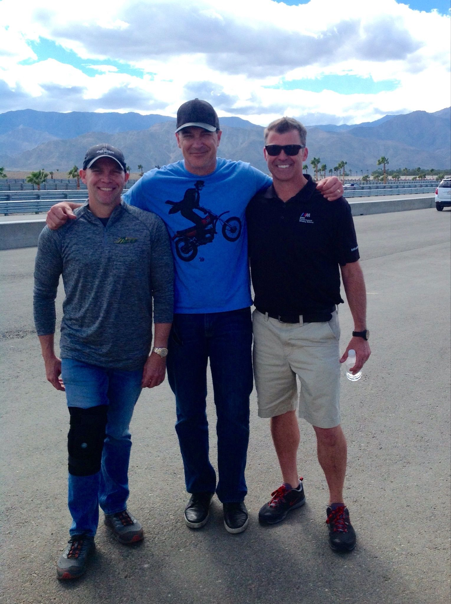 Patrick Warburton experiences the New BMW Performance Center located at The Thermal Club track in Thermal, CA!