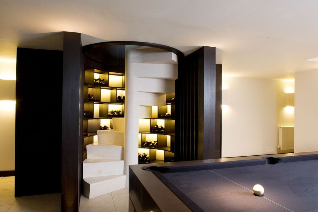 Contemporary Living - Wine Cellar from Herrington Gate