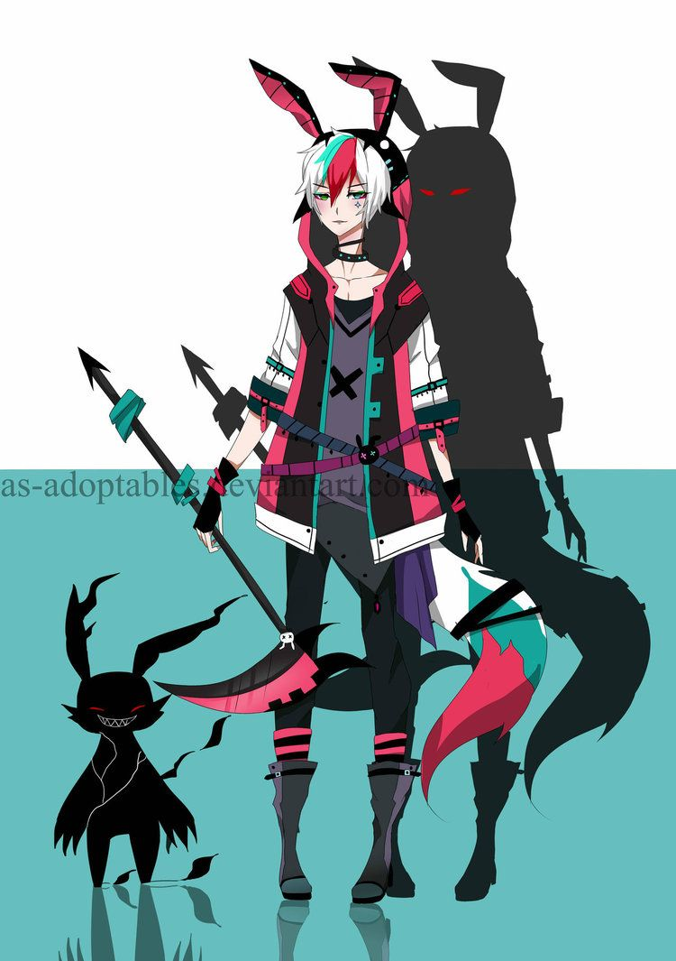 Shinigami  adoptable CLOSED by AS-Adoptables.deviantart.com on @DeviantArt