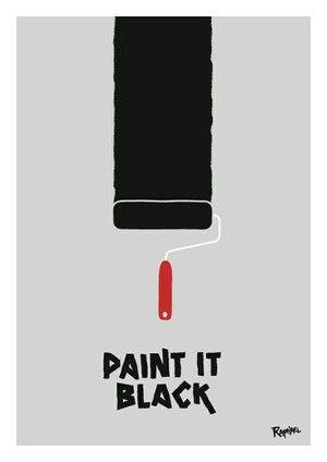 Paint It Black et autres musiques cultes : une bande son bientôt sur mon mur !
