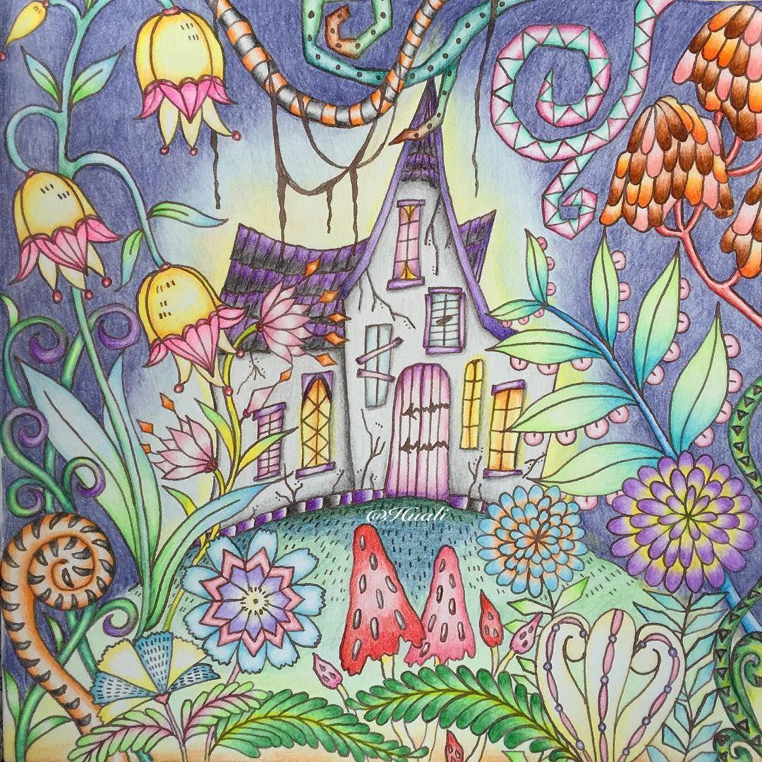 Eriy Romanticcountry Adultcoloring Coloring Books Drawings Art