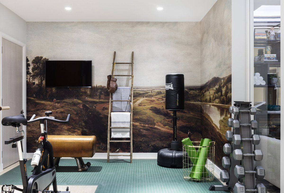 exercise rooms often forgotten but very important for many luxury
