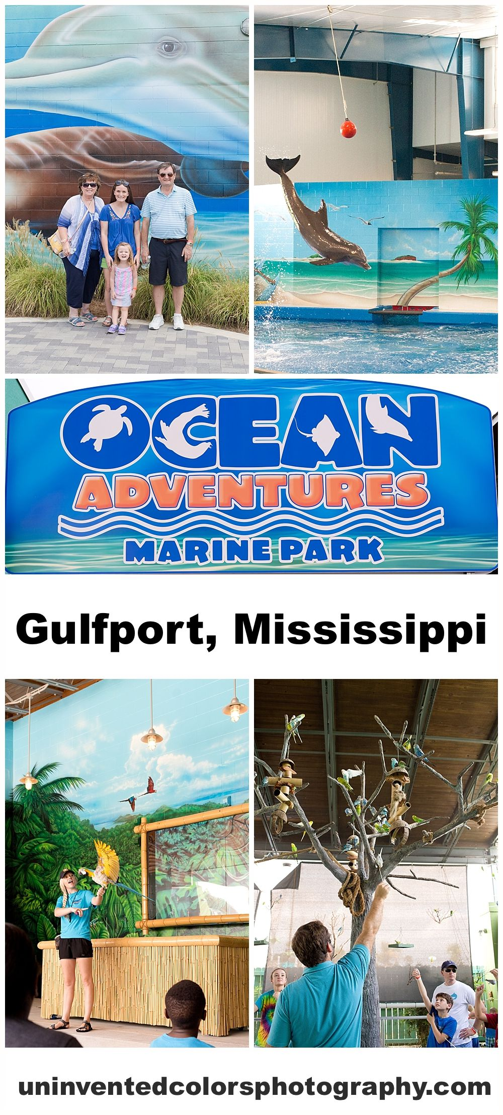 Ocean Adventures Marine Park Mississippi Vacation Mississippi