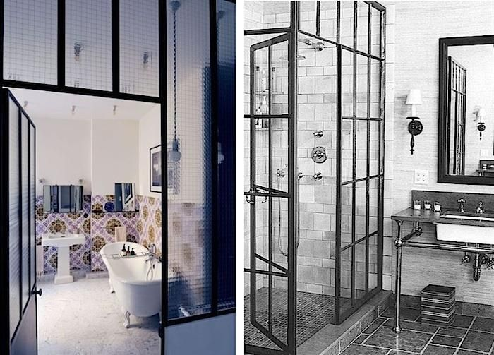 10 Glamorous Baths Metal Factory Window Edition Architecture