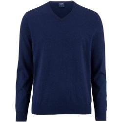 Photo of Olymp Strickpullover, moderne Passform, blau, XL Olympymp