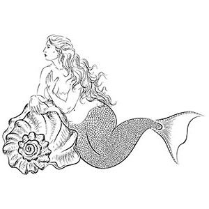 fantasy merman coloring pages #coloring | Mermaid coloring pages ... | 300x300