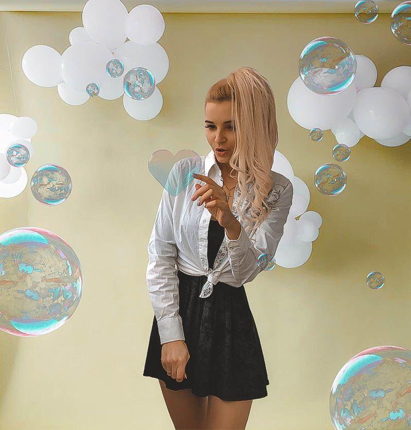 Идеи для фото. Фото с мыльными пузырями. Мыльные пузыри ...