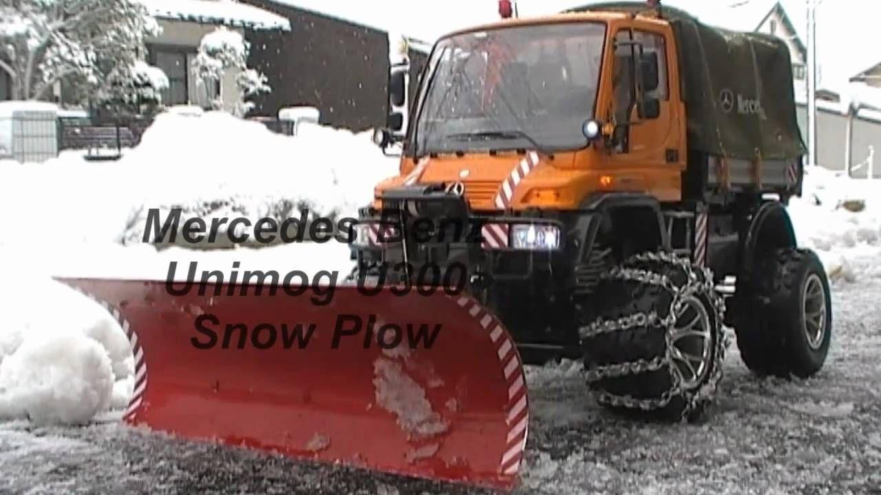 Rc Snow Plow Unimog U300 Rc Unimog