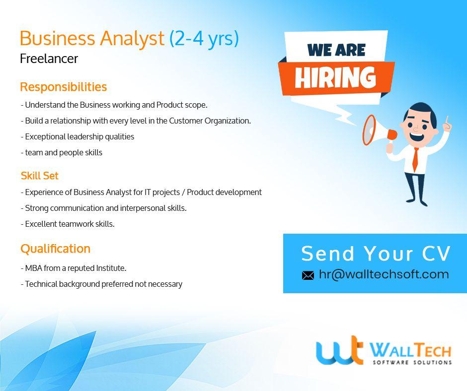 Freelancer Jobs Business Analyst Business Analyst Teamwork Skills Freelancing Jobs