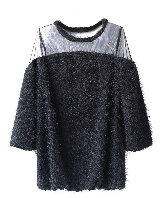Net Woven Dress