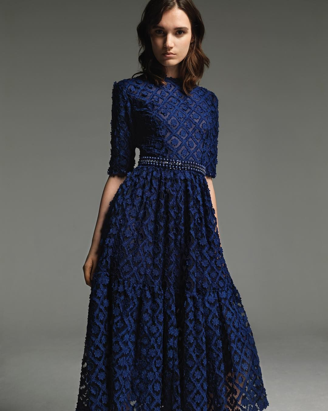 80f7cd186bb Royal #blue for Fall/Winter 2017/18. Tap link in bio to discover the  collection and the worldwide network. #costarellos #fall2017 #rtw #dress
