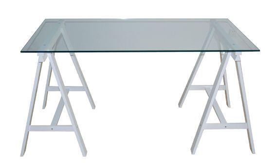 Oferta mesa de estudio original mesa montada sobre dos - Mesas estudio cristal ...