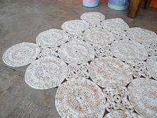 Carpet Circles - description in Portuguese plus charts