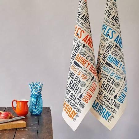 Typography Tea Towels Google Search Tea Towels Rhyming Slang