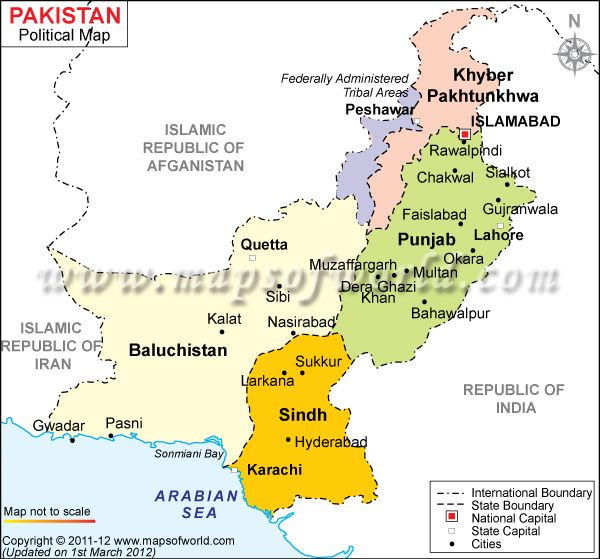 Islamabad Pakistan Map: Pakistan Map, Map, India Map