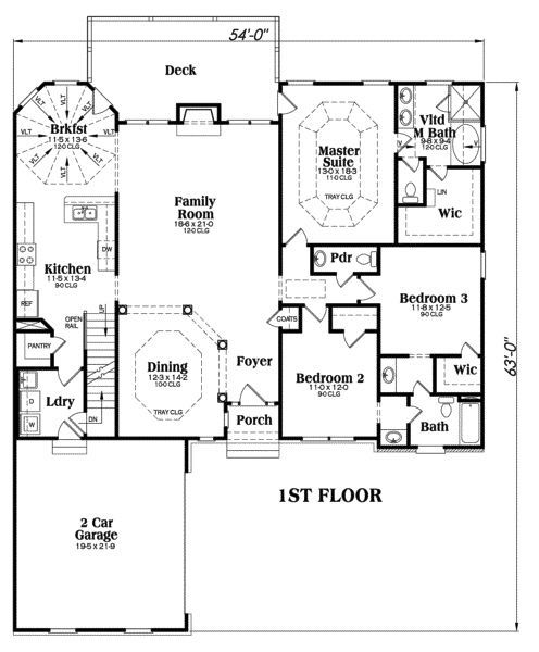 Home Floor Plans With Basement 1 Floor Plans House Plans One Story Craftsman House Plans Ranch Style House Plans