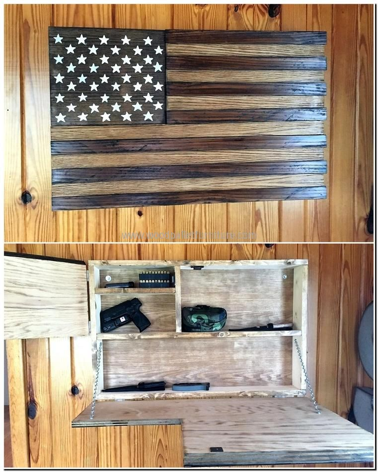 pallet wall art with storage cabinet & pallet wall art with storage cabinet | Saw projects | Pinterest ...