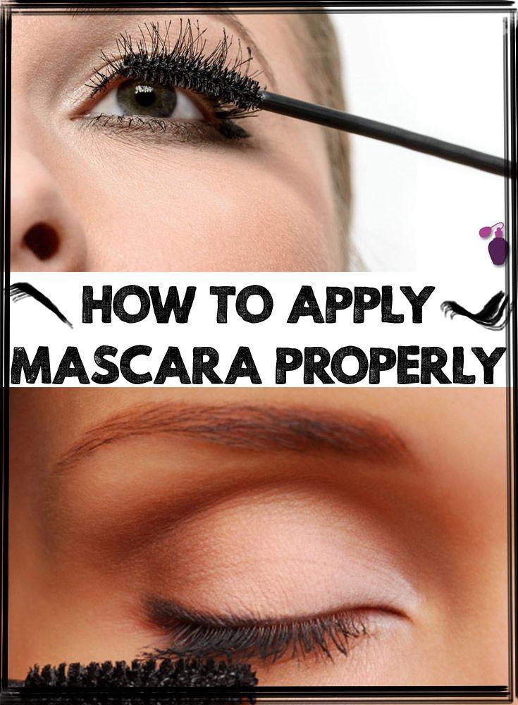 How To Apply Mascara Properly
