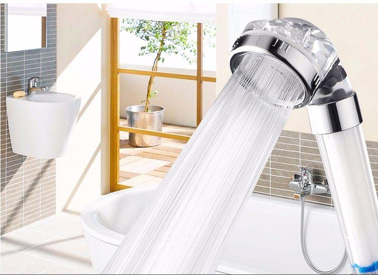 Water Saving Bath Shower Head Water Filter Spa Bathroom