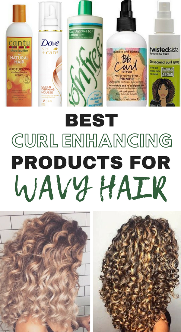 The 10 Best Curl Enhancing Products For Wavy Hair
