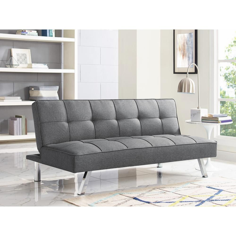 Serta Chester Grey Convertible Sofa Products Pinterest Sofa