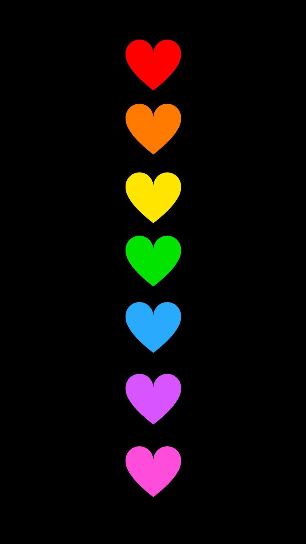 Pin Von Gail Williams Auf Clipart Hearts Regenbogen Hintergrundbild Herz Hintergrund Hintergrund Iphone