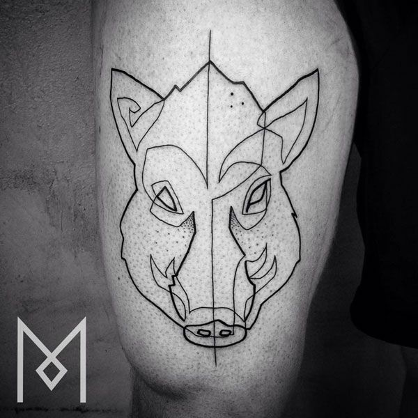 minimalist tattoo designs discover the artist whose minimal tattoo rh pinterest ca celtic boar tattoo designs bear tattoo designs for women