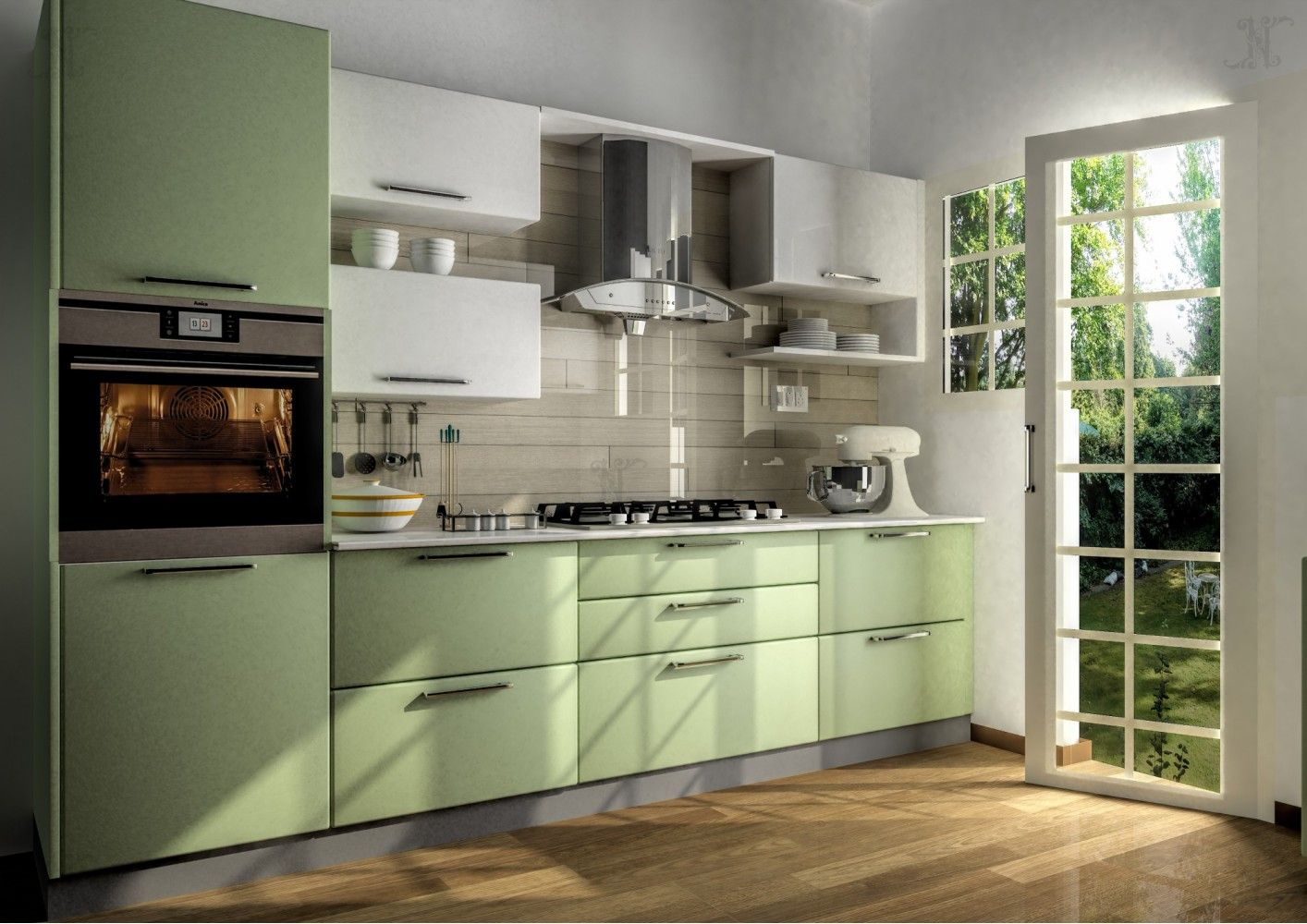 Parallel Kitchen Interior Design Ideas