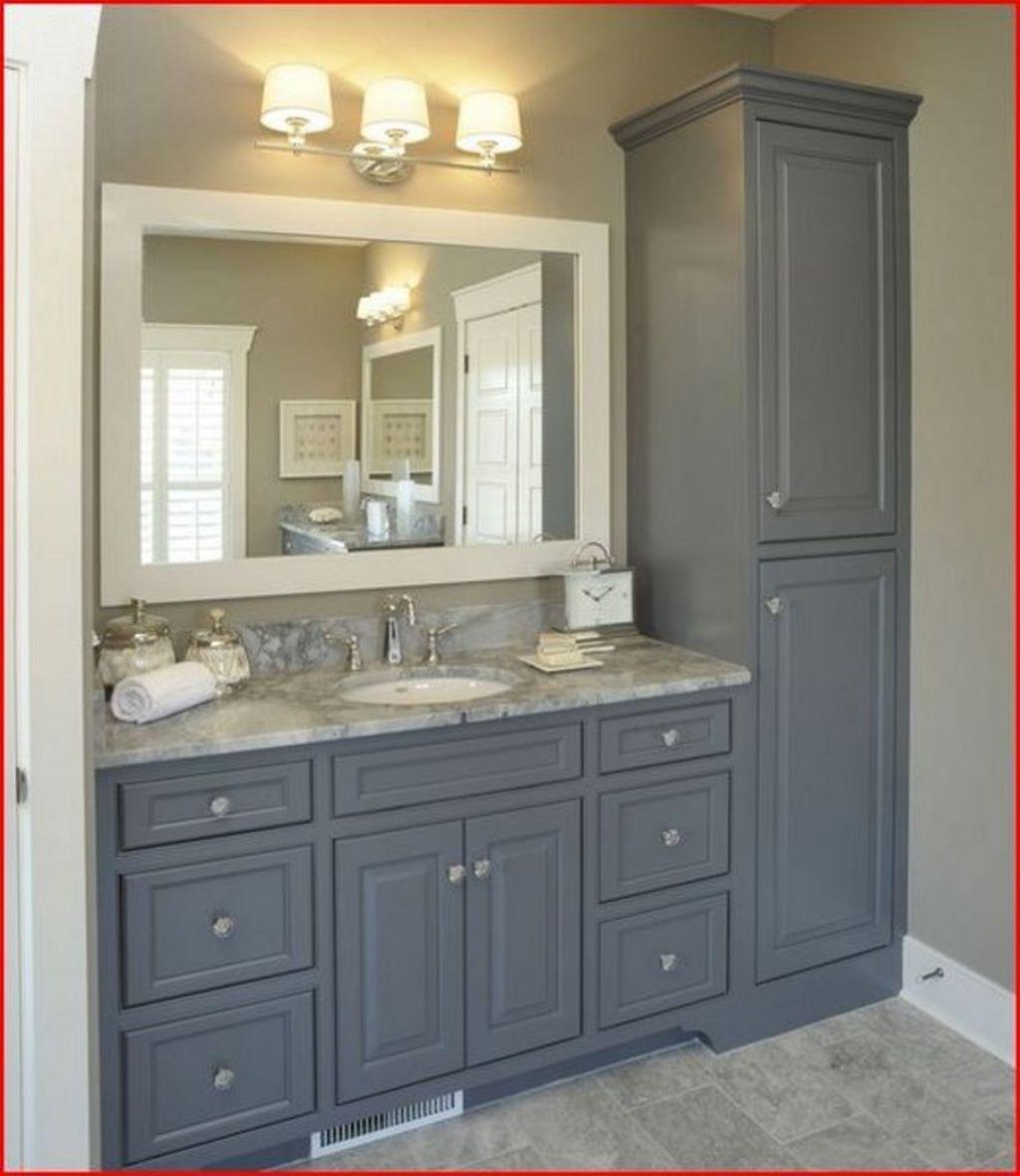 Photo of 64 Inspiring Rustic Bathroom Vanity Remodel Ideas