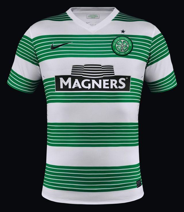 Nike Celtic FC 2013-14 Home Shirt Playeras De Futbol 025aa0c2323c4