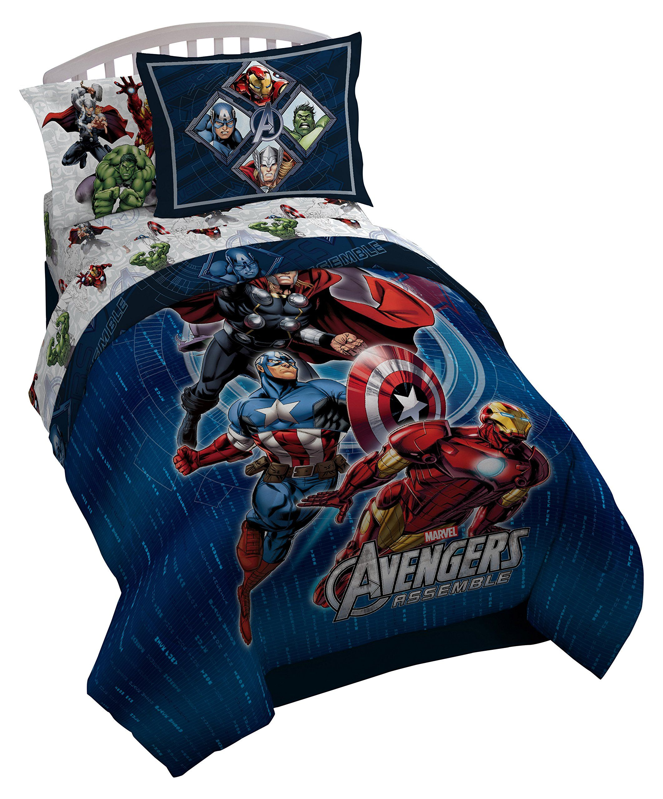 bedding set piece with avengers marvel war ease style civil comforter sets twin captain sheet sale america