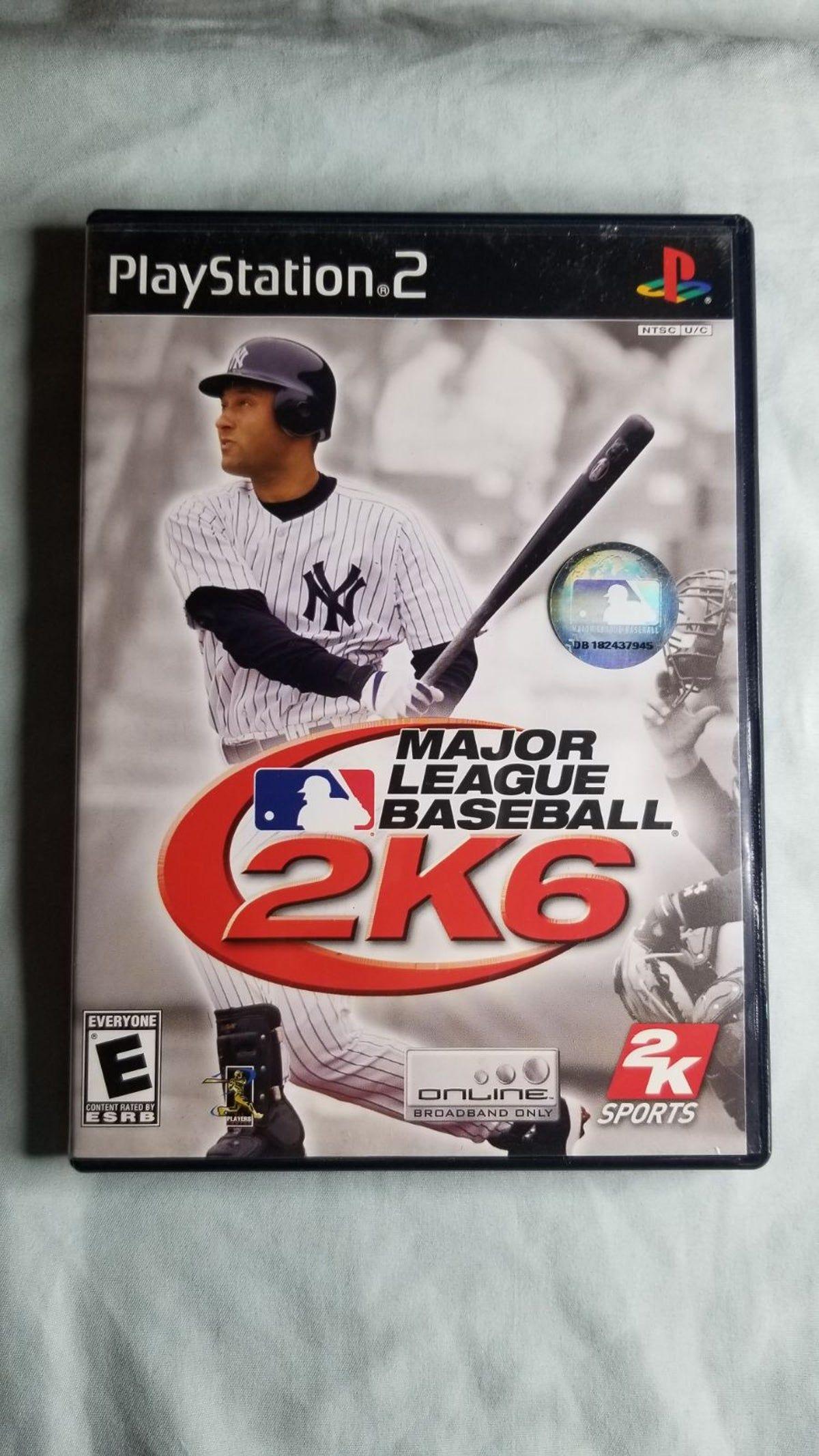 Ps2 Mlb 2k6 Major League Baseball Mlb Baseball