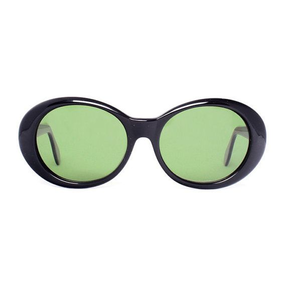 These black round vintage sunglasses are new-old-stock made in Spain by INDO optical and in excellent condition.    > SALE - from $29 for $20 !!!