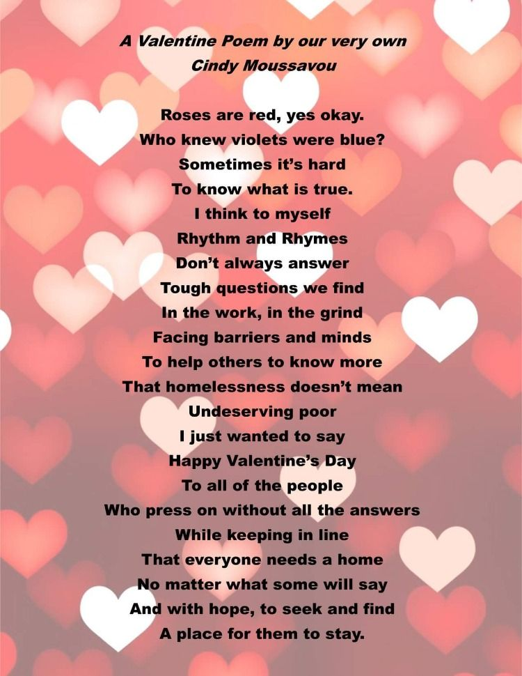 Happy Valentine's Day from all of us at Housing Families