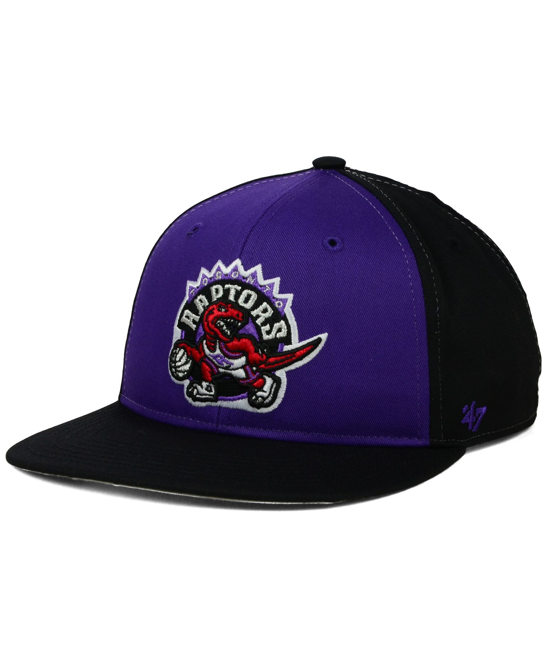 c111c9bc218 best price 47 brand kids toronto raptors kinnick snapback cap sports fan  shop by lids men