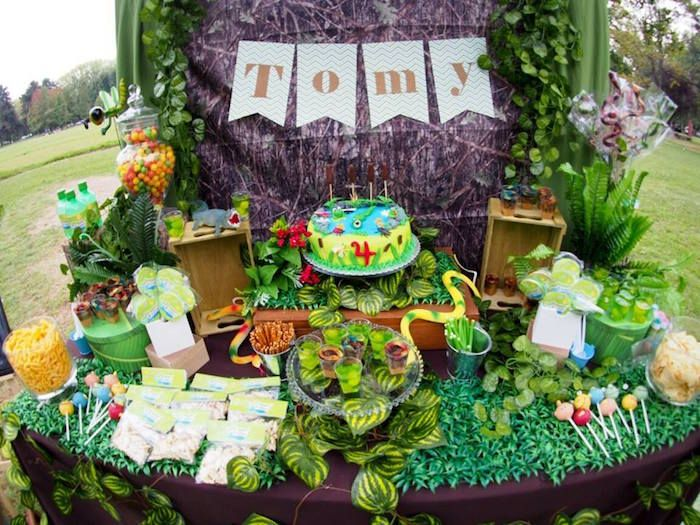 Karas Party Ideas Crocodiles Insects Birthday Party Karas