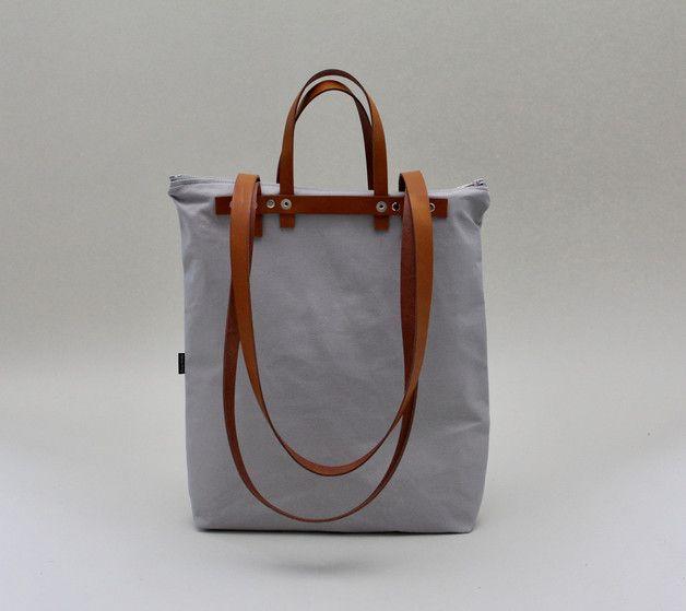 Diese tolle Tasche ist gleich 3 in 1: Schultertasche, Rucksack und ...