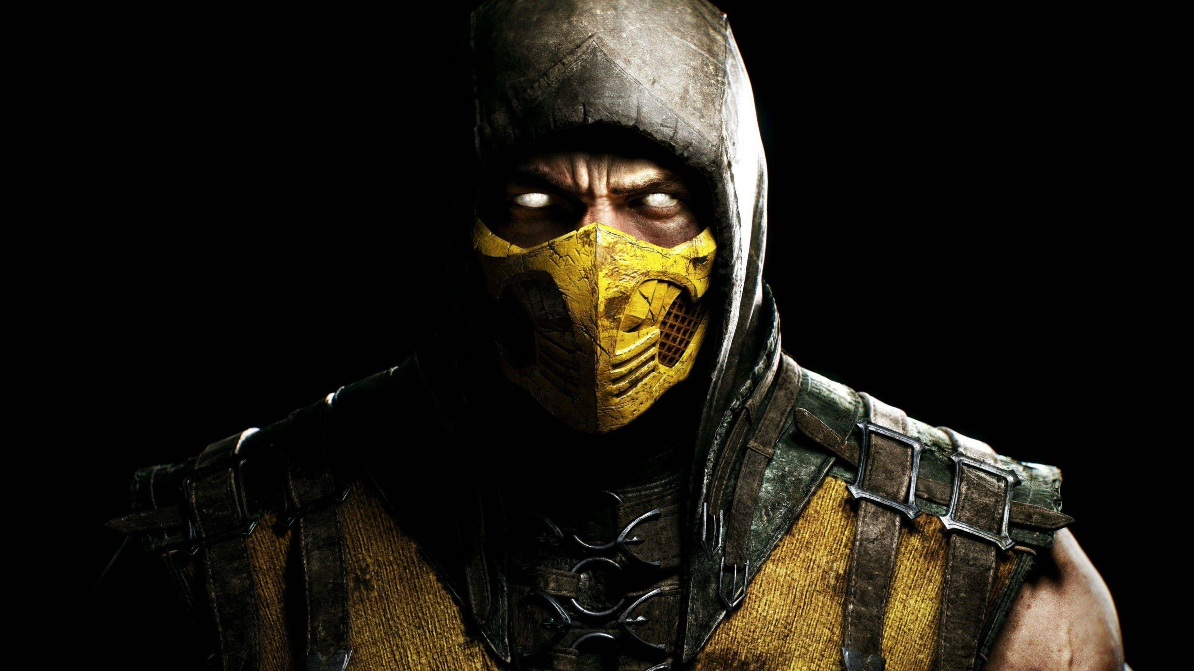 Download Scorpion In Mortal Kombat Hd K Wallpapers In X Scorpion Mortal Kombat Mortal Kombat X Wallpapers Mortal Kombat