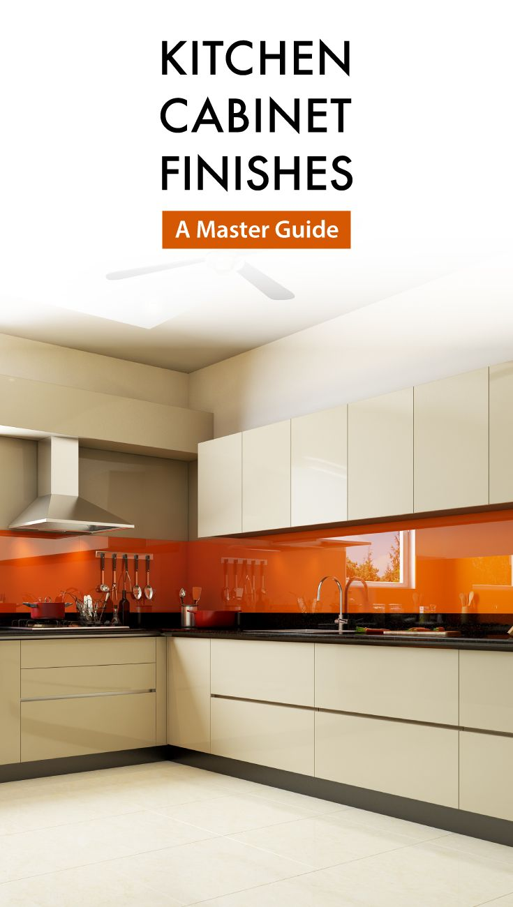 Your master guide to selecting the best kitchen cabinet finishes ...